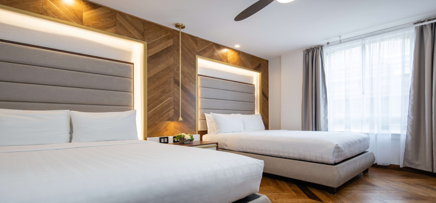 BOUTIQUE GUEST ROOMS IN THE HEART OF SAN FRANCISCO